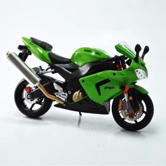 Xe mô hình V&G KAWASAKI NINJA ZX-10R GREEN (2004) 1:12 MAISTO