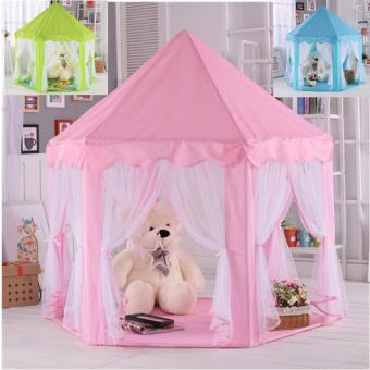 Lều Màn Hoàng Tử - Công chúa cao cấp cho bé ( Màu hồng )