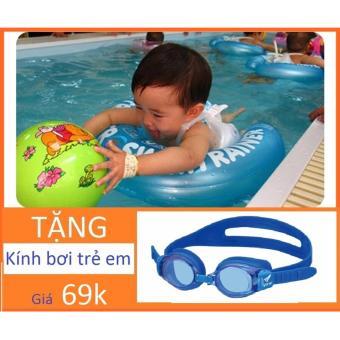 Phao Nách Tập Bơi Chống Lật + Tặng Kính Bơi Cho Trẻ