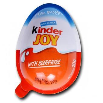 Combo 8 quả trứng Socola KINDER JOY cho bé trai 8x20g (19k 1 quả)