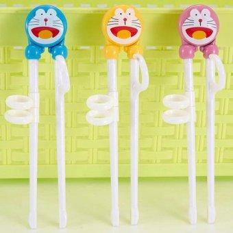 Đũa tập ăn xỏ ngón cho bé hình hoạt hình ngộ nghĩnh (Hàng Nhật Bản cao cấp)