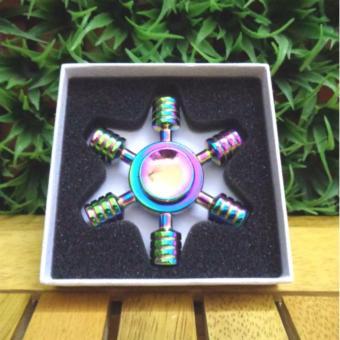 Con quay Spinner 7 màu cầu vồng