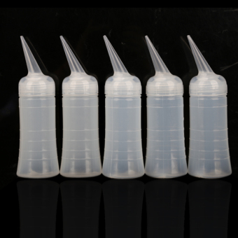 5x Hairdressing Applicator Measuring Perm Tinting Scale Bottle Tool New - intl