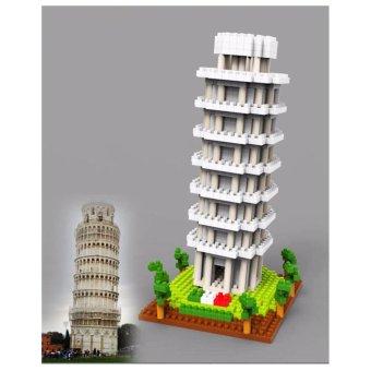 Đồ chơi lắp ráp 3D mô hình Lealing Tower Of Pisa