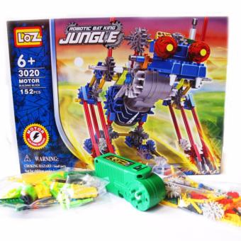 Bộ lắp ghép Loz Robot 3020