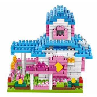 Bộ đồ chơi lắp ráp biệt thự xanh