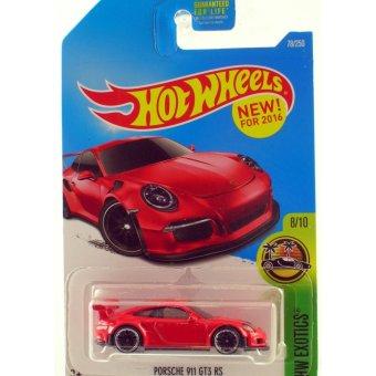 Xe mô hình tỉ lệ 1:64 Hot Wheels 2016 Porsche 911 GT3 RS - Đỏ