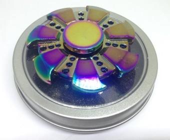 Con quay spinner Kim loại 7 cánh 7 màu cao cấp