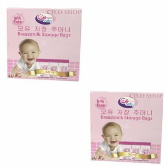 Combo 2 hộp túi trữ sữa GB Baby tiện lợi