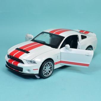 Xe Mô Hình Sắt Tỉ Lệ 1:32 Mustang Shelby GT500 - Trắng