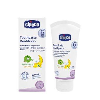 Kem đánh răng hương Chuối - Táo Chicco 23201 50ml (Trắng)