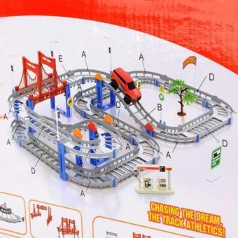 Bộ lắp ráp đường đua xe ô tô siêu tốc Trang Anh 57