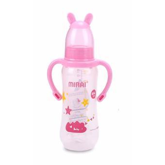 Bình sữa em bé MIRAI 250ML(Xanh lá nhạt)