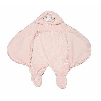 Khăn quấn em bé Thỏ hồng