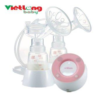 Máy hút sữa mẹ 2 bên bằng điện Minuet # Unimom UM871692 có chế độ massage pin sạc