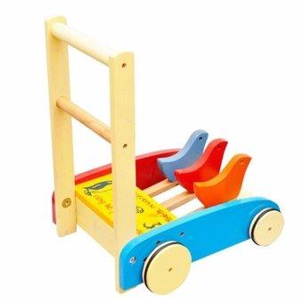 Xe tập đi bằng gỗ cho bé BL