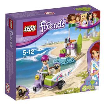 Hộp LEGO Friends Xe Máy Bãi Biển Của Mia 41306 (79 chi tiết)