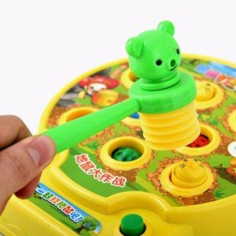 Đồ chơi Đập thú - Trò chơi vui nhộn - Phát triển phản xạ cho bé yêu T7-10