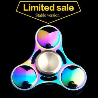 Con quay Spinner 3 cánh UFO đa màu sắc kim loại