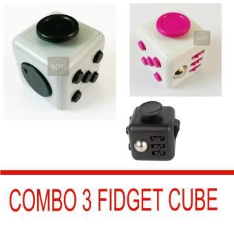 Combo 3 Fidget Cube - trò chơi kỳ lạ