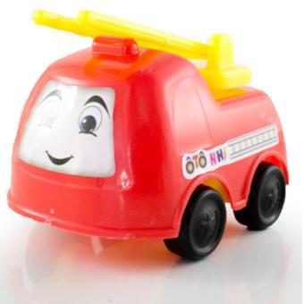 Bộ 4 Ô tô nhí - Xe cứu hỏa, xe bồn, xe ben, xe cứu thương