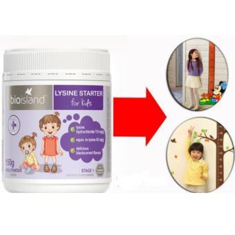 Sữa Bio Island Lysine Starter for Kids dạng bột 150g