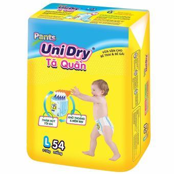 Tã quần Unidry Sz L54( bé yêu từ 9-14kg)