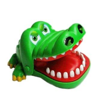 Đồ chơi Cá Sấu kẹp tay hình cá sấu (Xanh lá)