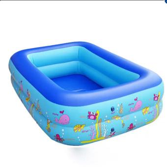 Bể bơi phao 2 tầng cho bé 120x90x35cm