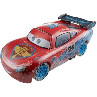 Xe Disney Pixar Cars - Lightning McQueen Ice Racers