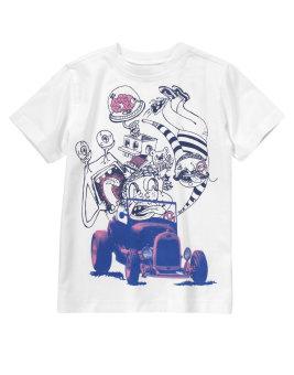 Áo phông cộc tay Goofy Gang Car Crazy8