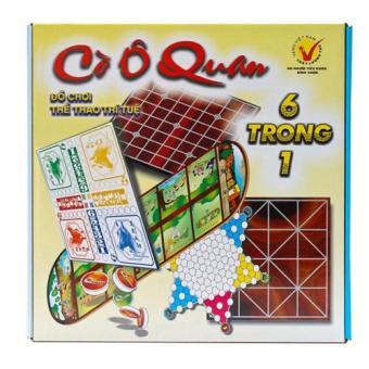 Bộ đồ chơi cờ ô quan 6 trong 1 hộp lớn