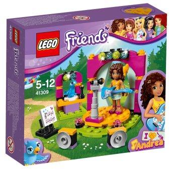 Hộp LEGO Friends 41309 Buổi Ca Nhạc Hòa Tấu Của Andrea 86 chi tiết