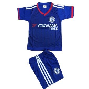 Bộ quần áo thể thao em bé mẫu đội tuyển bóng đá CLB Chelsea
