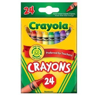 Bút sáp 24 màu Crayola