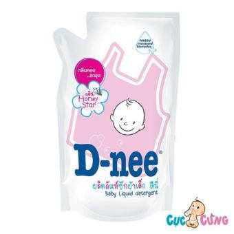 Nước giặt xả Dnee gói 600ml Thái Lan (hồng)