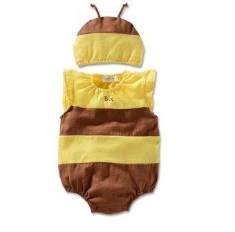 Bộ body liền con ong có mũ ngộ nghĩnh Family shop TEH25