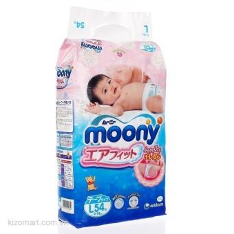 Tã dán Moony Size L54