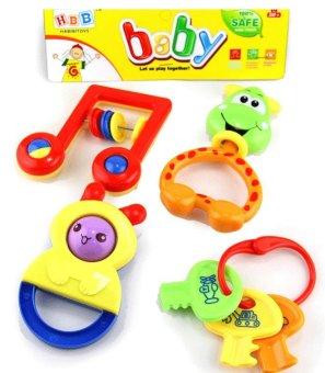 Bộ đồ chơi Lục Lạc 04 món cho bé