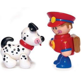 Cảnh sát và chú chó Tolo 89992 (Nhiều màu)