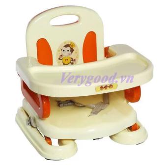 Ghế ngồi tập ăn cao cấp BABY loại 1 (Cam)