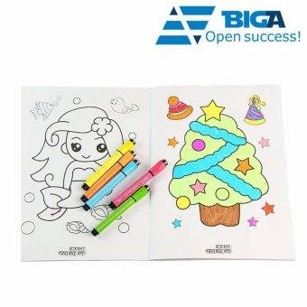 Bộ4 Bộ Tranh Vẽ Màu Cho Bé Biến Thành Thực 4d Dream Toy (Tặng Bút Màu) Us04553