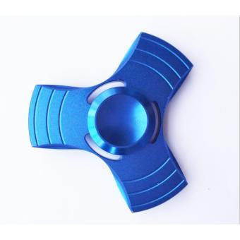 Con quay 3 cánh Fidget Spinner xả stress màu xanh( Hàng chất lượng loại 1)
