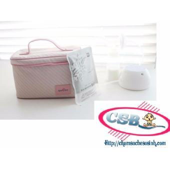 Túi giữ lạnh bình sữa Spectra Hàn Quốc CSB3366(Hồng)