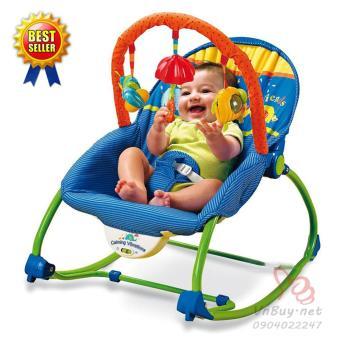 Ghế rung tự động cho trẻ em - Màu xanh