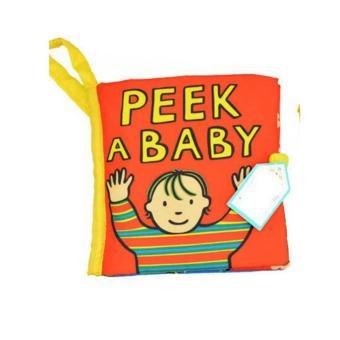 Sách vải Jollybaby Peek a baby cho bé chơi mà học