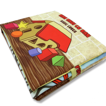 Sách vải cho bé chơi mà học Pipo - Hình khối cơ bản