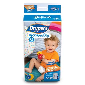 Tã dán Drypers Wee Wee Dry XL 50