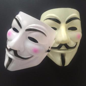 Bộ 2 Mặt Nạ Hacker Halloween Horror Adaz0002