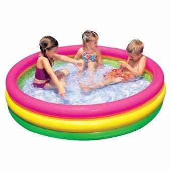 Bể Bơi Phao Trẻ Em Intex Cầu Vồng 1m47 x 33cm